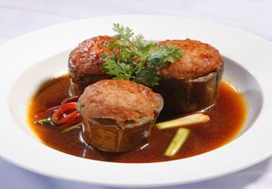 Cách làm cà tím nhồi thịt ngon