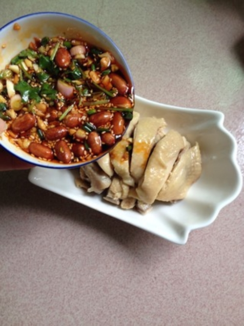 Cách làm gà sốt chua cay