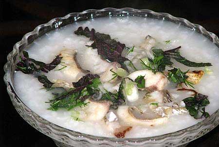 Cách nấu cháo cá ngon
