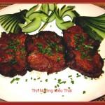 Cách làm thịt nướng kiểu thái đãi cả nhà