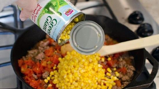 cách làm nacho bò bằm