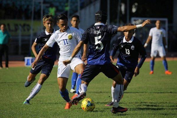 ĐT Campuchia thua ngược đáng tiếc trước ĐT Malaysia