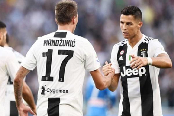 Súng 2 nóng của Juventus