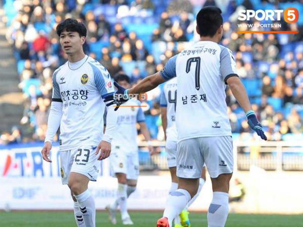 Công Phượng ghi dấu ấn khi thi đấu ở Incheon United, chỉ thiếu bàn thắng