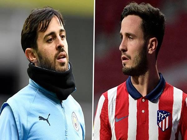 Chuyển nhượng chiều 9/6: Atletico gạ Man City đổi Bernardo Silva lấy Saul